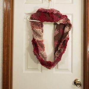Infinity scarf, handmade.